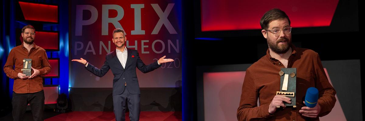 Tim Whelan gewinnt den PRIX PANTHEON 2020